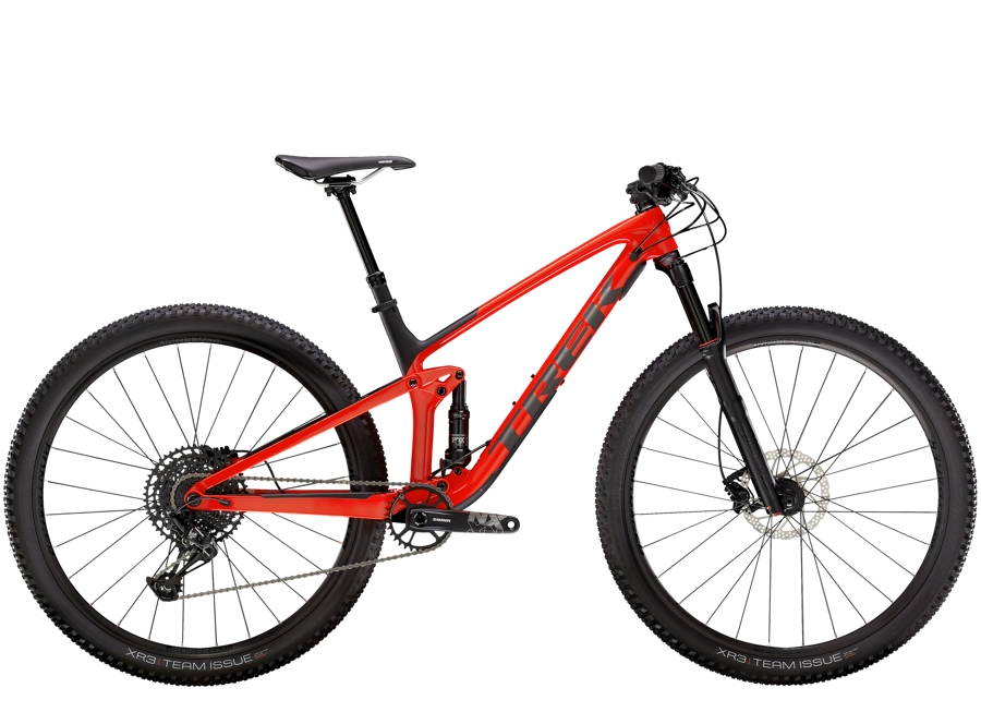 Trek Top Fuel 9.7 ML Gloss Red/Matte Carbon Smoke